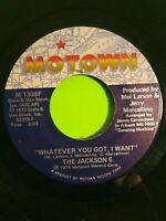 """The Jackson 5 I Can't Quit Your Love, Whatever You Got I Want 7"""" 45 RPM 1973"""