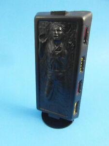 Slave 1 - Han Carbonite Display Stand (stand only) - Star Wars Kenner- BLACK