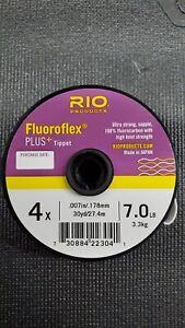 RIO Fluoroflex Plus Tippet Size 4X, 5X