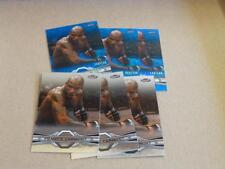 FRANCIS CARMONT 2013 TOPPS FINEST UFC LOT OF 6 BASE BLUE REFRACTOR /188 U1628