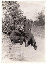 WW2 German Wehrmacht ''Haubitze 15cm'' Presse Photo - German Howitzer photograph