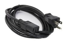 Dell S2009WFP U2713H E190S flat panel Monitor AC power supply cord cable charger