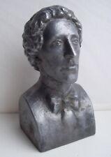 Soviet Russian poet Alexander Blok metal bust statue
