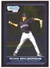2006 Bowman Chrome Baseball Prospects #BC56 Ryan Spilborghs Colorado Rockies