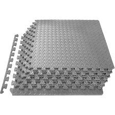 HolaHatha EVA Foam Puzzle Exercise Gym Floor Mat Interlocking Tiles (Open Box)