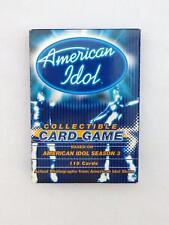 AMERICAN IDOL Collectible CARD GAME Based on SEASON 3 in Original Box w/ Rules