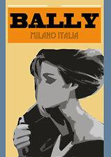Bally Print Villemot Large Italia A1 A2 Poster Retro vintage art painting