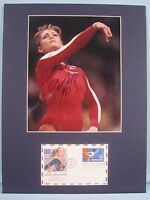 Shannon Miller, Olympic Gold Medalist & Gymnast First day Cover & her autograph