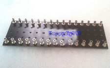 2 PCS 30-Pin Black  Amplifier Parts DIY Tag Strip Tag Board Turret Board