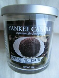 Yankee Candle Cappuccino Truffle 198g Retired NEW UNUSED JAR 40 Hours Burn Time