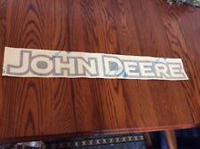 Nice John Deere Logo Decal 4-1/2 inch x 30 inch