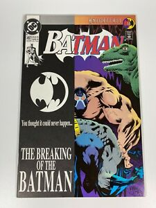 Batman #497 MINT (This is the Issue Bane BREAKS Batman's Back!)