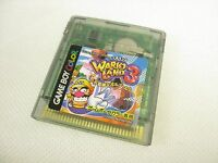 Game Boy Color WARIO LAND 3 Nintendo Video Game Cartridge Only gbc