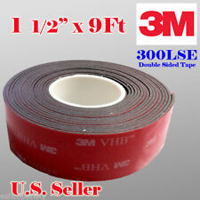"3M 1-1/2"" x 9 ft VHB Double Sided Foam Adhesive Tape 5952 Acrylic 1.5 inch 38mm"