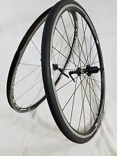 Fulcrum/Giant 700c Road Bike Wheelset Clincher Aluminum 9/10spd Shi/Sram 9w