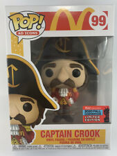 McDONALDS CAPTAIN CROOK Funko Pop Vinyl Ad Icons LE NYCC 2020 #99 - IN HAND