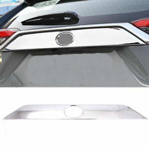 For Toyota RAV4 XA50 2019-2021 Chrome Rear Trunk Lid Decoration Cover Trim 1PC