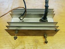 Vintage Regulated Power Supply Aluminium  Heat Sink 600R Thyristor BYY15 Diode