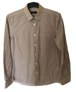 Mens SABA Cotton Patterned Shirt. Size SS. GUC