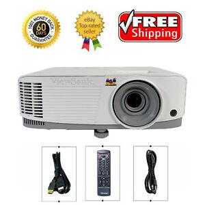 ViewSonic PG603W DLP Projector Business 3600 ANSI Full HD 3D 1080p HDMI w/bundle