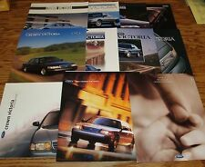 1992-2001 Ford Crown Victoria Sales Brochure Lot of 11 93 94 95 96 97 98 99 00