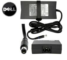 1 Day Genuine Dell 130w Laptop Adapter Battery Charger Mains Lead Wd15 4k
