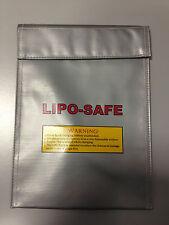 LiPo-SAFE Bag Guard Schutztasche Brandschutz Tasche Lipobag Neu 215mm x180mm