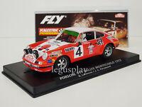 Slot Car Fly E2014 Porsche 911 #4 Rallye Montecarlo 1972 Larrousse / Perramond