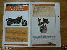 LM94- IN DE KEUKEN VAN HONDA  INFO MOTORCYCLE,MOTORRAD,MOTORFIETS