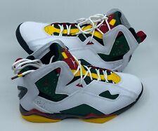 AIR JORDAN True Flight White Fir Amarillo Shoes Size 8 DEADSTOCK Box CT1493-100