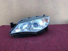 SUBARU WRX STI SEDAN 2011-2014 OEM LEFT DRIVER XENON HEAD LIGHT (COMPLETE). 68K