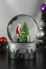 NECA Nightmare Before Christmas CHRISTMAS EVE Snowglobe Snow Globe Jack Bubb
