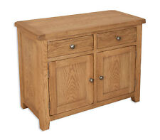 Small Sideboard 2 Doors 2 Drawers Country Living Oak