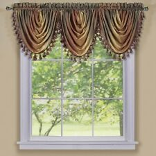 Achim Ombre Waterfall Valance- OMWFVLAT06 Window Curtain NEW