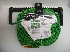Rave Fuse Handle w/PolyBond De Line Ski/Wakeboard Rope - 75' Free Shipping