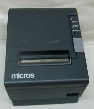 "Epson TM-T88IV Model M129H ""Micros"" Point-Of-Sale Receipt Printer w/Paper Roll"