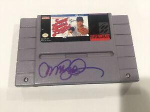 Ryne Sandberg Signed SNES Super Nintendo Video Game Cubs Beckett BAS COA a