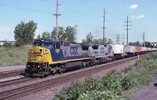 ORIGINAL KODACHROME RAILROAD 4 PACK SPECIAL CSX BLASDELL, NY 2001