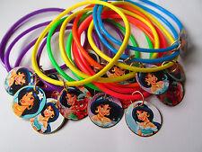 Jasmin  -8 Charm Bracelet-Party Favor Birthday Prizes bracelets Princess
