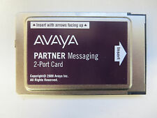 Avaya 2 Port Voicemail Messaging Card for Partner ACS Phone System -REFURBISHED