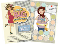 How Big Is Mummy's Tummy Baby Shower Party Game Measure Bump Boy Girl Unisex
