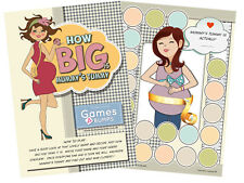 Baby Shower Party Game HOW BIG IS MUMMY'S TUMMY Measure Bump Boy Girl Unisex