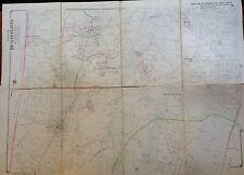 1909 HUNTINGTON DIX HILLS MELVILLE ELWOOD SUFFOLK LI  NY COPY ATLAS MAP PLAT
