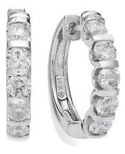 BLOWOUT SALE!!! White Gold Diamond Hoop Earrings (2 ct. t.w.)