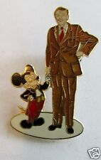 Disney 40th Anniversary Walt & Mickey Mouse Partners Statue Pin