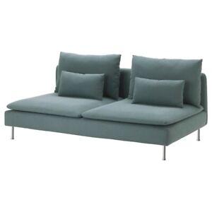 Brand New IKEA SODERHAMN Cover for Sofa Section in Finnsta Turquoise 603.283.30