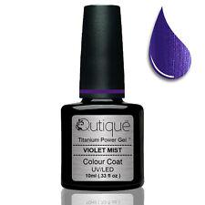 Gel Nail Polish Colour VIOLET MIST -Violet/Purple -Nail Wipes