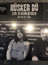 Husker Du - Live In Minneapolis August 28th 1985 VINYL LP - New & Sealed