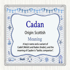 Cadan Name Meaning Drinks Mat Coaster Nautical