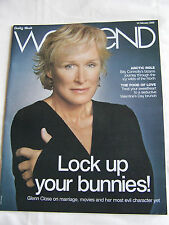 Glenn Close – Daily Mail Weekend Magazine – 14th February 2009  Billy Connolly